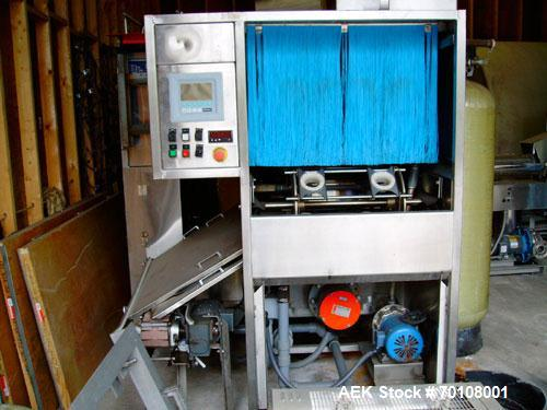 Used- D&L Uni-Plant All In One System, 3, 5 and 6 gallon. Includes washer, filler and capper. Manufactured 1998, complete wi...