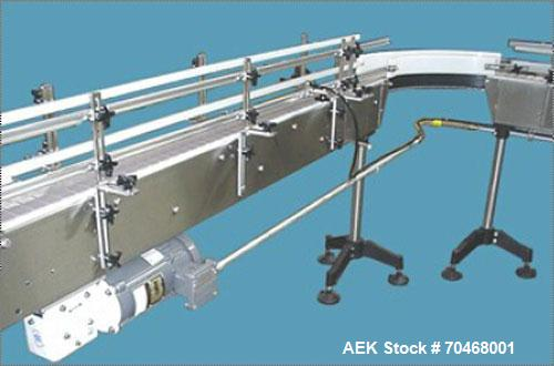 Used-Inline Filling Systems Bottle Filling Traying and Sleeving Line