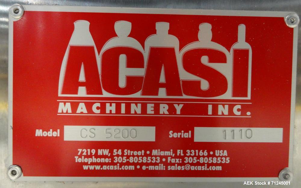 Used- Kapsall/Acasi/Apak Liquid/Paste Filling Line