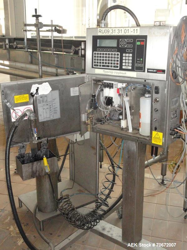 Used- KHS Bottling Line for Glass Bottles