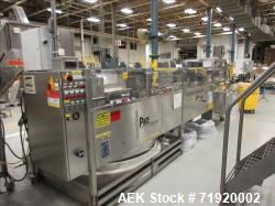 Used-Complete Serac (EPSI) Personal Care Lotion Net Weigh Filling line. Packaging line consists of Pace model M600 Bulk bott...
