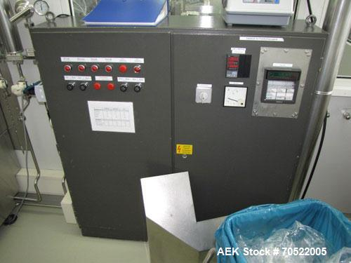 Used-Strunk Bosch Ampoule Washing/Sterilizing/Filling/Closing/Coding line for open straight stem and funnel type glass ampou...