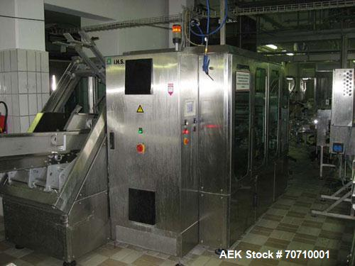 Used-Tetra Pak Tetra Top TT3 Filling Machine.  Maximum capacity 9,000 units per hour, 3/50 hz/400V, filling volumes 0.13, 0....