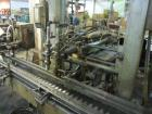 Used-Neupak Paint Can Filling Line.  Line consists of a 36