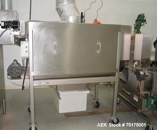Used-Cretors and Matrix Complete All Stainless Steel Popcorn Line from popper to bagger. Complete with Cretors feeder/elevat...