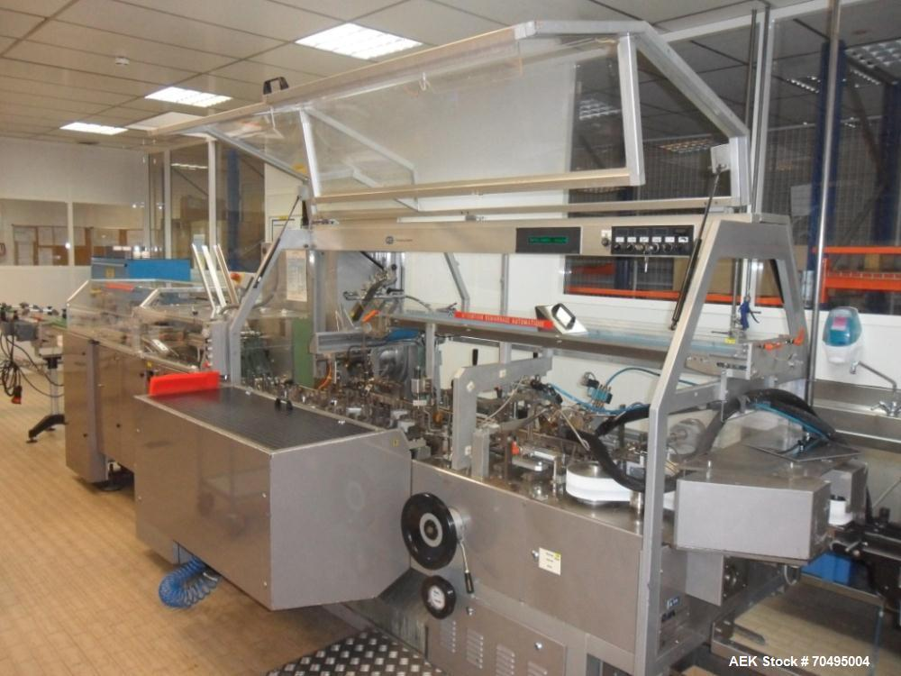 Used- Blister / Carton Packaging system for ampoule packaging.