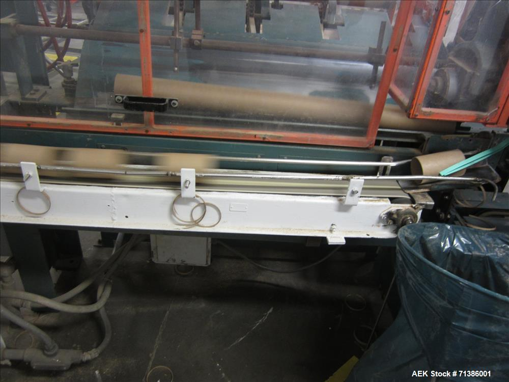 Used- Complete All Fill Powder/Salt Fiber Canister Forming and Filling Line