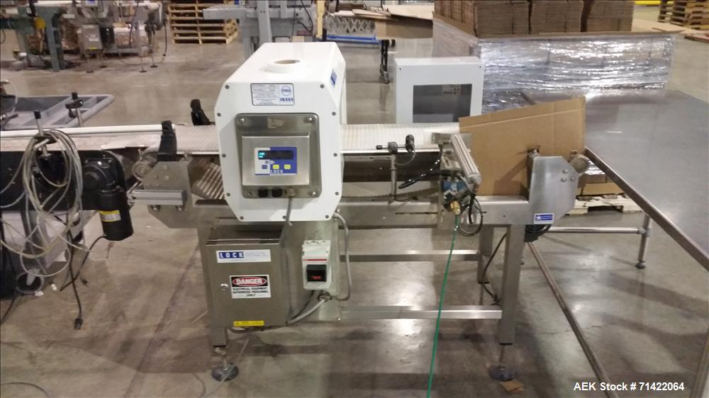 Used- Vo-Tech Engineering 6 Cavity Candy Sprinkle Packaging Line