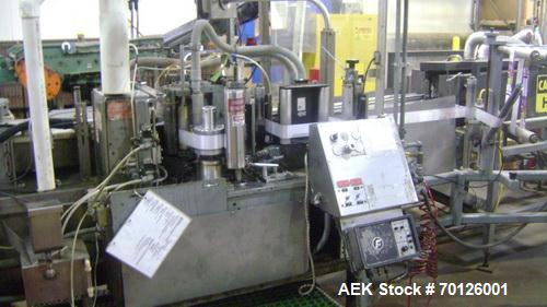 Used- Kalish Monocount Packaging Line, consisting of: Kalish packout conveyor, Checkweigher, Kalish Swiftpack Electronic cou...