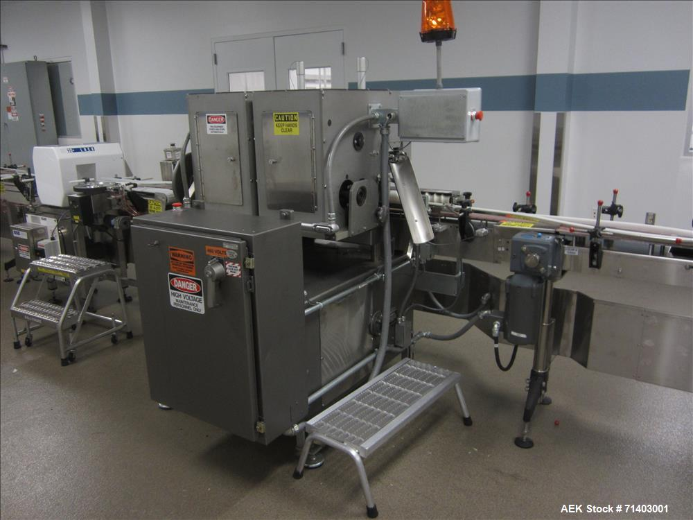 Used- Lakso 990 (Model93) Complete Solid Dose Packaging line.