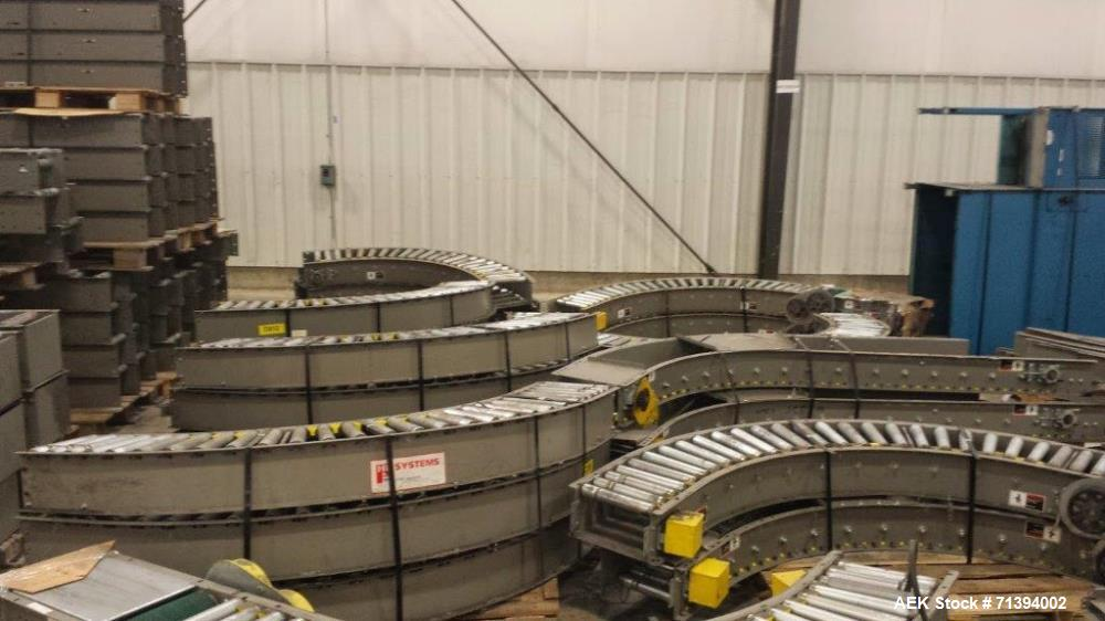 """Used- HK Conveyor System. Used as an overhead system. Over 4,000 feet in length. Includes just over 2500 feet of 19"""" conveyo..."""