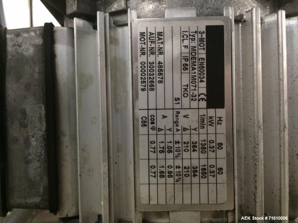 Used- Flex link Conveyor Sections
