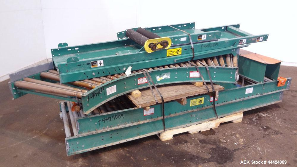 Used- Automated Conveyor Systems Inclined Belt Conveyor