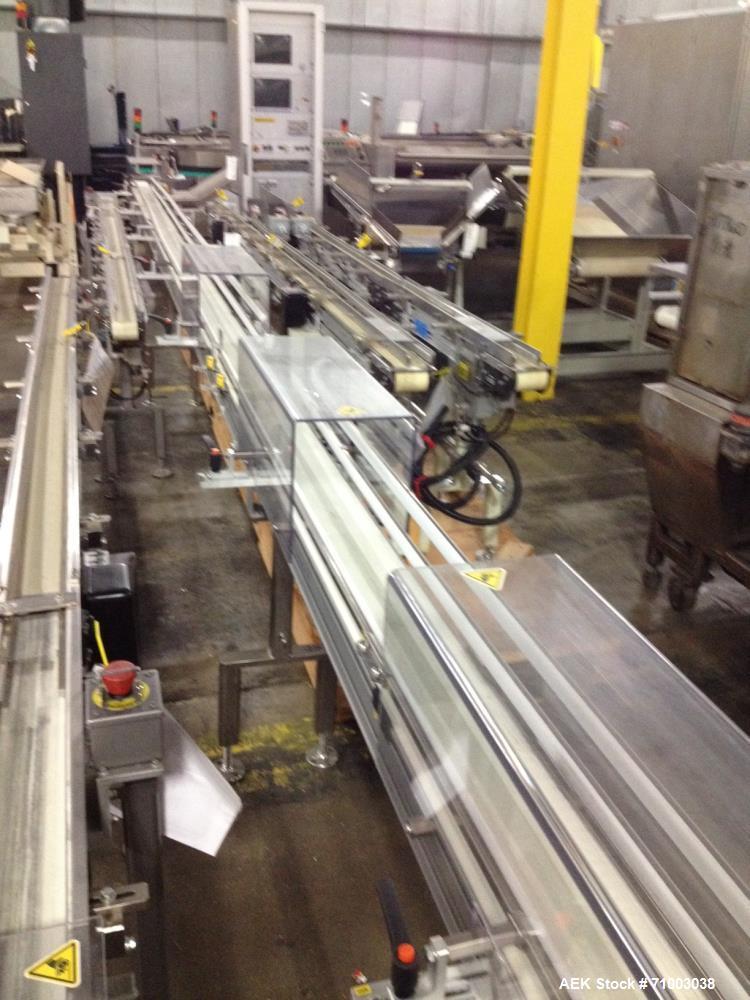 Used- Dorner 3200 Series Aluminum-Frame Belt Conveyors