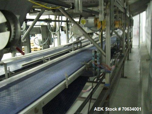 Used-Five (5) Station Gaylord Tote Dumping Metering System