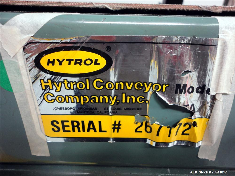 Used- Hytrol Belt Conveyor