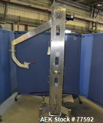 Used- Kamflex Design Vertical Tablet Belt Conveyor