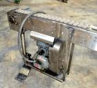 Used- Table Top Belt Conveyor. Approximately 3