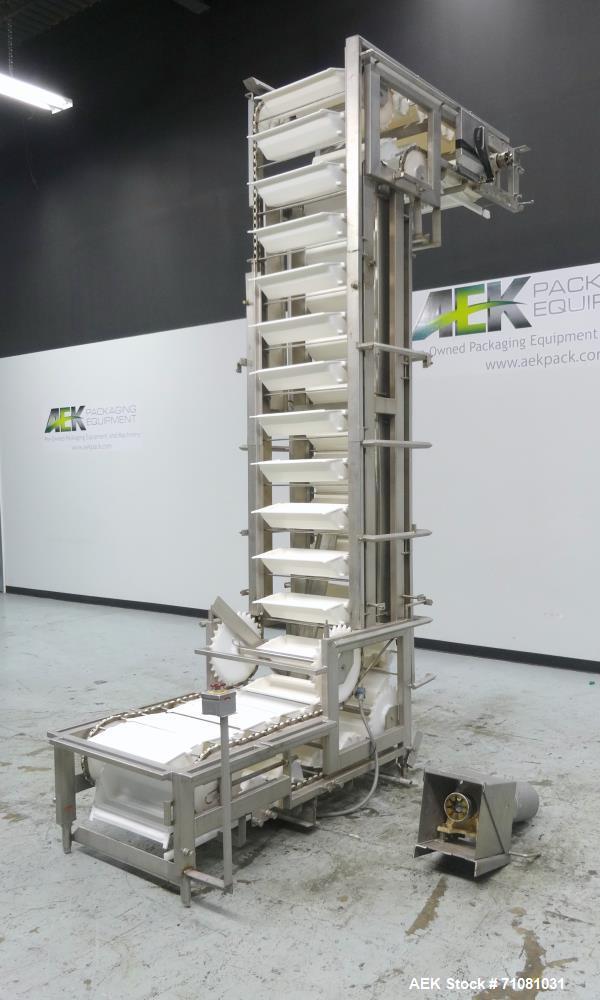 Used- Nedco Model Ultra Lift Pivoting Bucket Elevator