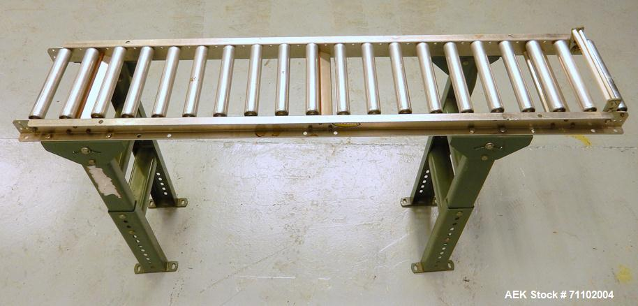 Used-Hytrol 5' Roller Conveyor