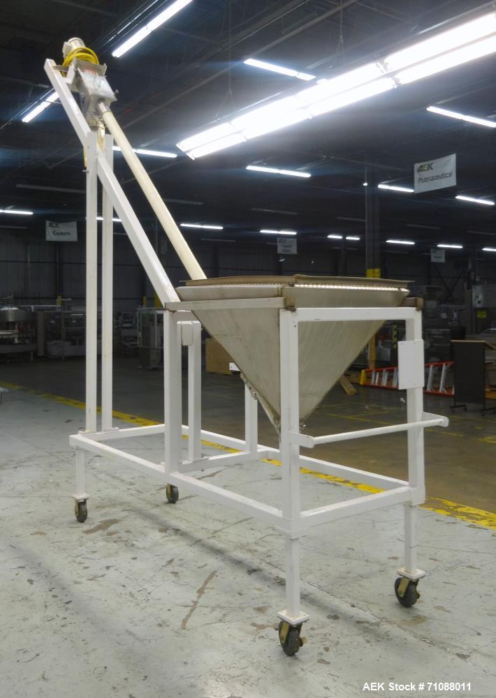 Used- Flexicon Portable Incline Tube Conveyor
