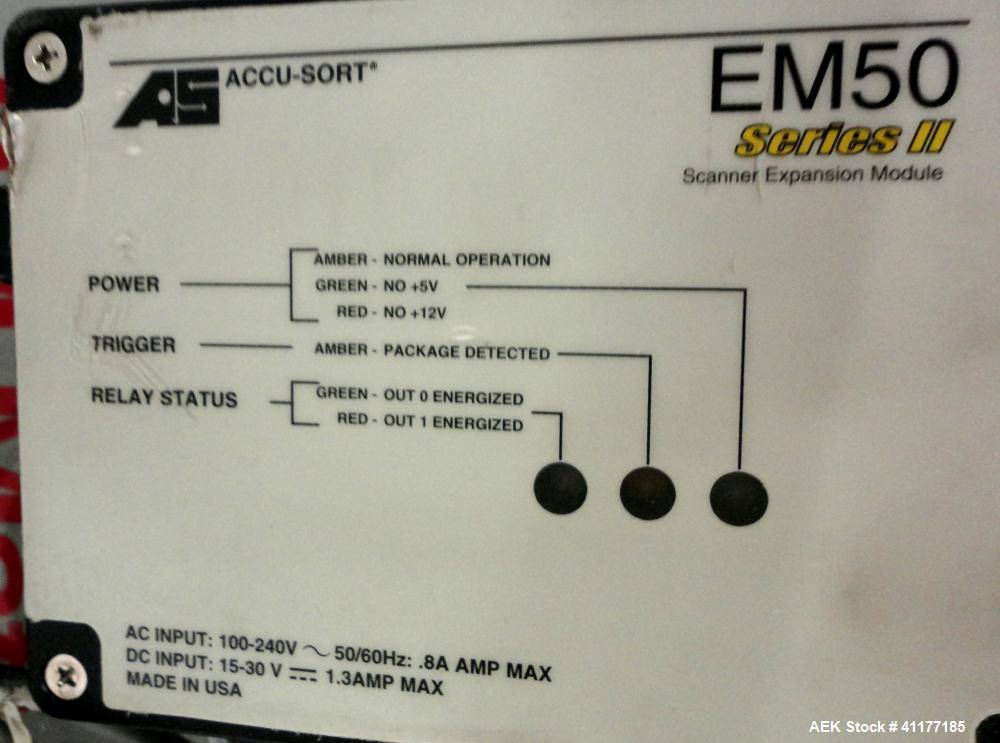 Used- 3M-Matic 200cc Case Coder Conveyor, Type 29700