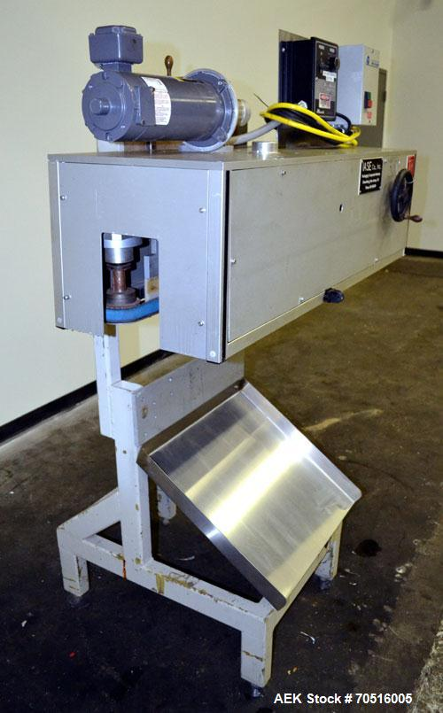 Used- IASE (Industrial Automation Systems Engineering) Side Belt Portable Transfer Conveyor, Model CVS-1/200