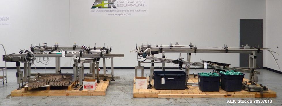 Used-Simpli-Flex Modular Puck-Conveyor System