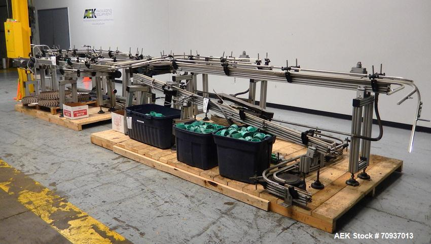 Used-Simpli-Flex Modular Puck-Conveyor System