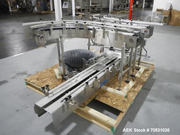 """Used- Garvey """"U"""" Table Top Conveyor, Model 9600"""