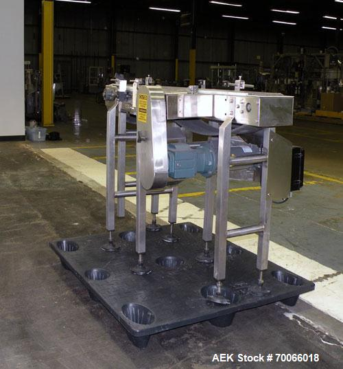Used- Garvey Bi-Directional Belt Accumulation Conveyor, Model 9700