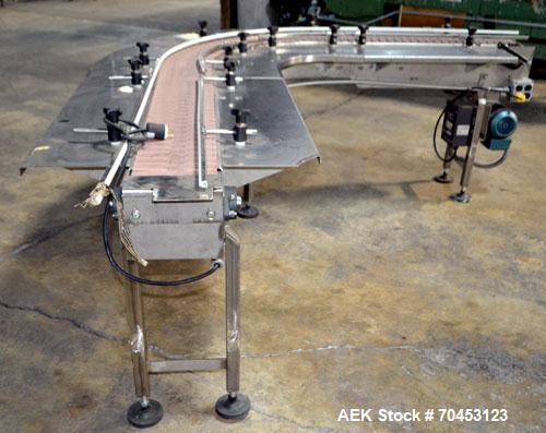 Used- Table Top 90 Degree Belt Conveyor