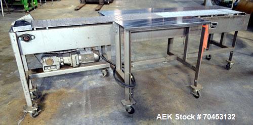 Used- Simplimatic Table Top Belt Conveyor.