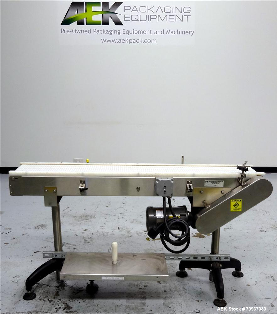 Used- Packaging Dynamics Model PC-KVP5 Conveyor
