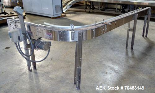 Used- Taylor Table Top 90 Degree Belt Conveyor
