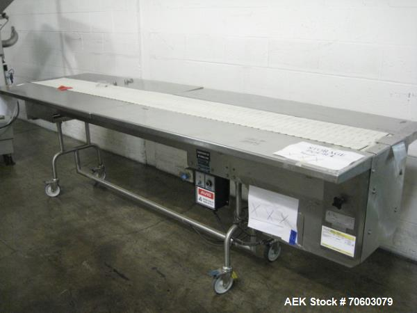 Used- Trio-Pac Table Top Belt Conveyor, Model 180