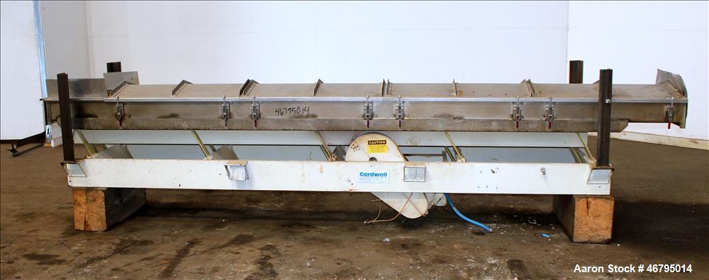 Used- Cardwell Vibe-O-Vey Vibratory Conveyor, Model VC-1659.