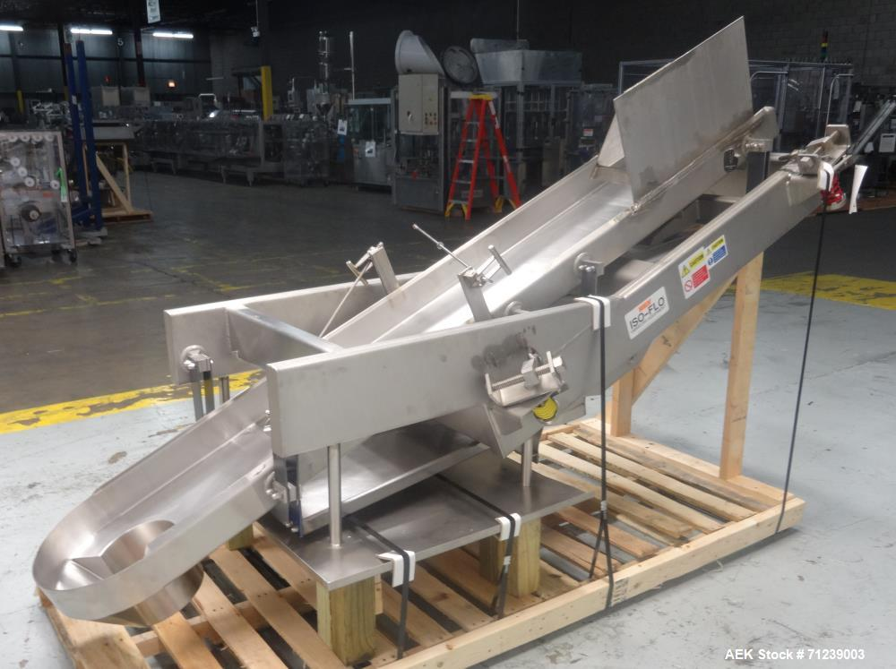 Used- Key Technology Model Iso-Flo Smooth-Cycle Scale-Feed Vibratory Conveyor
