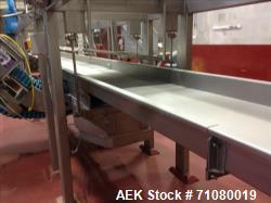 Used-Smalley Autoglide Conveyor with Bias Cut, Model AG56-SS-30-31.25