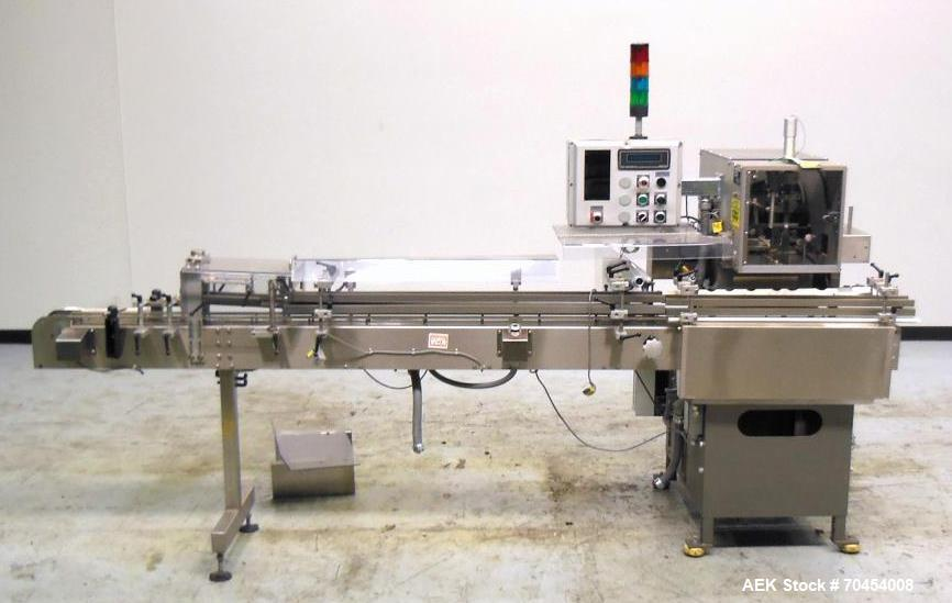Used- Lakso Model 150 Single Head In-Line Cottoner