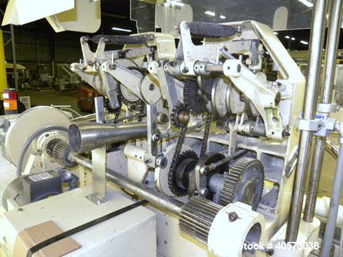 Used- Lakso Model 71 Automatic Twin Head Cottoner