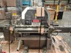 Used- Lakso Model 71 Automatic Twin Head Cottoner capable of speeds up to 200 bottles per minute. Has 28