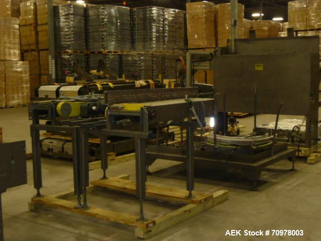 Used- Priority One Automatic Bulk Depalletizer.
