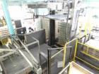 Used- Priority One Low-level Bulk Depalletizer. Rated for glass or PET, 460 VAC 3 Phase 60 Hertz. Low-level container discha...