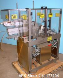 Used- MGS Reciprocating Feeder. Left to Right Configuration. 4 in W x 20 in L Ba