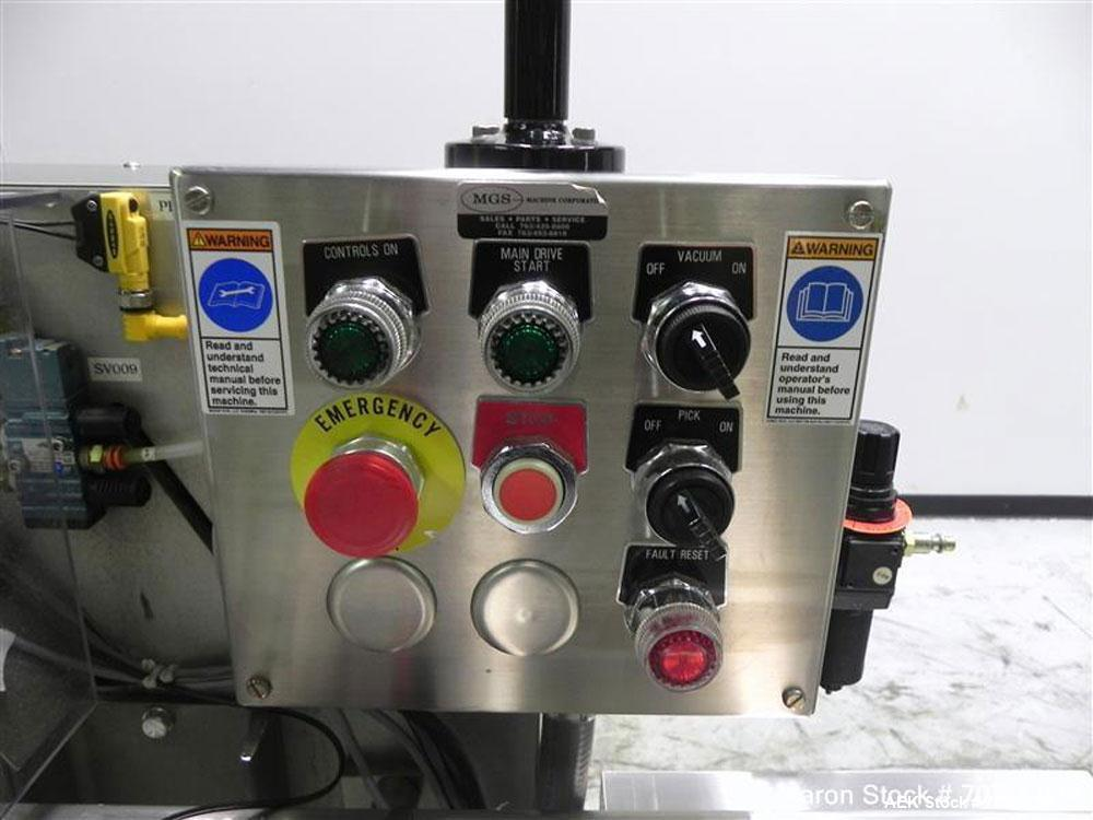 Used- MGS Model RPP-231 Rotary Pick & Place Coupon and Leaflet Feeder