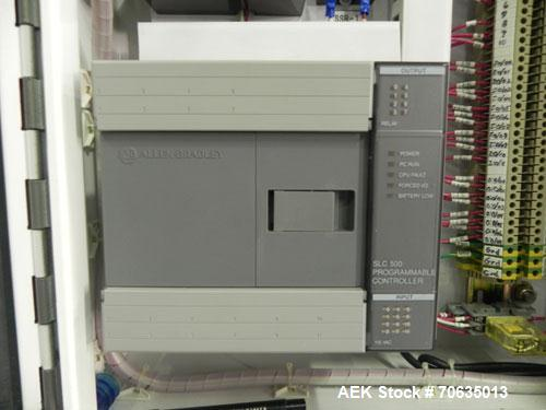 Used- Minnesota Automation Model Special Reciprocating Coupon Feeder-Topserter. Capable of speeds up to 90 units per minute....