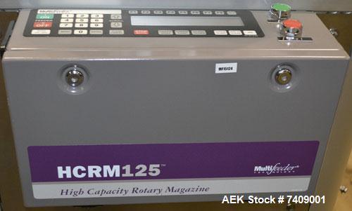 Used- Multifeeder Technology High Capacity Rotating Magazine Leaflet Feeder