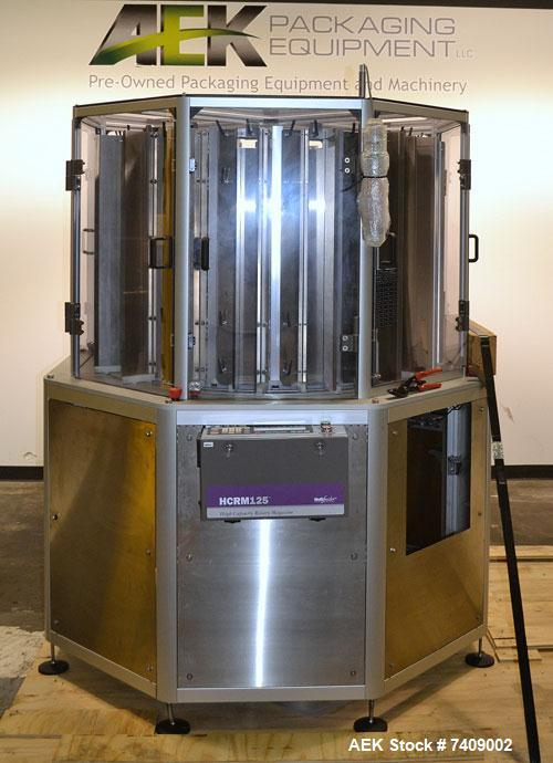 Used- Multifeeder Technology High Capacity Rotating Magazine Leaflet Feeder