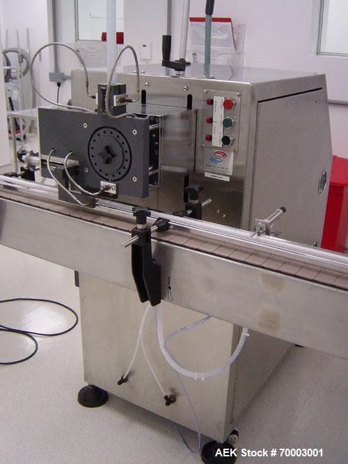 Used-Pace Stainless Steel Canister Desiccant Drop Machine, Model DESIC. Desiccant Designation: 1 gram (single drop). Electri...
